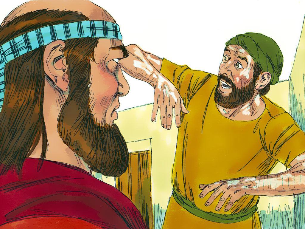 The FALL of GEHAZI
