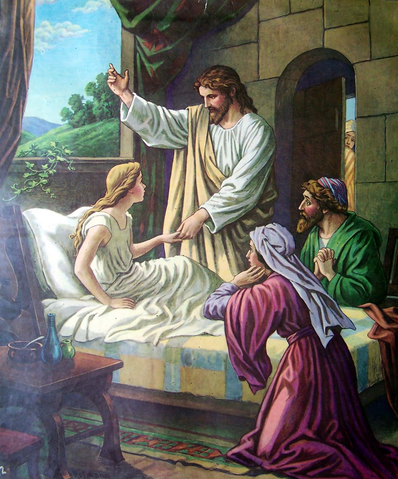 Year 9 Religion: Jesus Raises a Dead Girl and Heals a Sick Woman