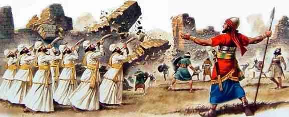 MECHANICAL RESONANCE OF SOUND IN JERICHO WALL